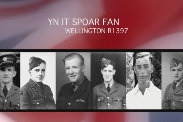"DOCUMENTAIRE ""YN IT SPOAR FAN WELLINGTON R1397"""